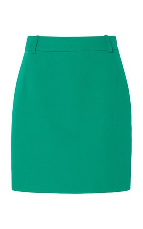 Fitted Mini Skirt By Balenciaga | Moda Operandi