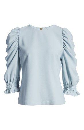 Rachel Parcell Puff Sleeve Top | Nordstrom