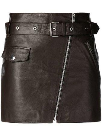 Sonia Rykiel zipped mini skirt