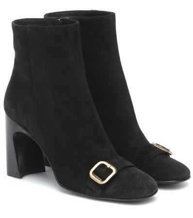 Tod's - Suede ankle boots | Mytheresa