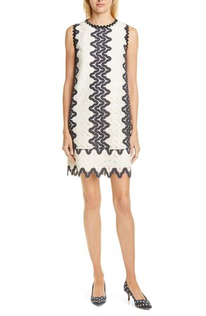kate spade new york sand dune lace shift dress | Nordstrom