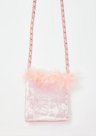 Sugar Thrillz Marabou Crossbody Bag | Dolls Kill