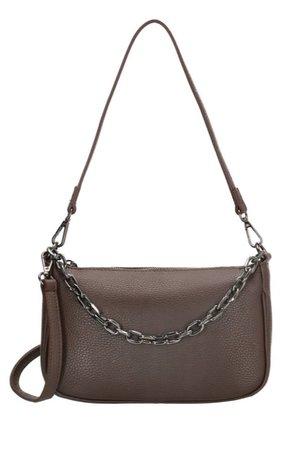 dark Brown charm bag