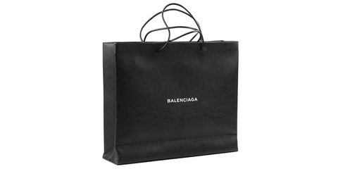 Balenciaga Released Another Expensive Shopping Bag - Balenciaga Leather Shopping Bag Costs $1,820