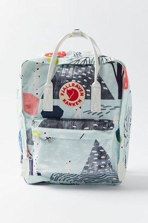 Fjallraven Kånken Birch Forest Art Backpack   Urban Outfitters