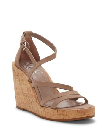 Vince Camuto Cordalla Wedge Sandal | Designer Shoes, Handbags, Clothing & Perfume - Vince Camuto