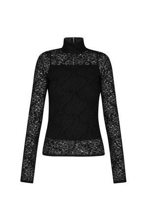 Long Sleeved Lace Top - Ready-to-Wear   LOUIS VUITTON