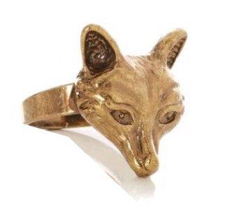 golden fox ring