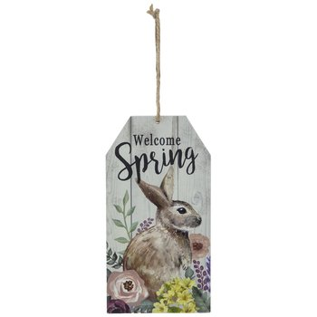 Welcome Spring & Happy Easter Wood Ornament | Hobby Lobby | 205267471