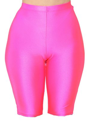 Hot Pink Biker Shorts