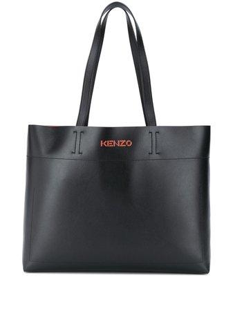 Kenzo Embossed Logo Tote Bag