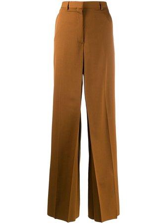 LANVIN, high-rise wide-leg trousers
