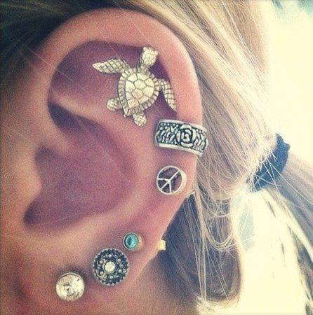 jewels-turtle-earrings-gypsy-hippie-girl-piercing-ear-cuff-helix-piercing-earrings-l-a3b634b5b3fd3879.jpg (605×610)