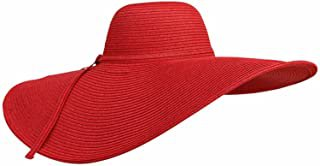 Amazon.com : wide brimmed hat women red