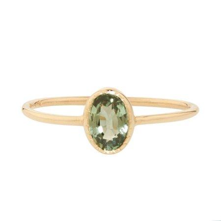 Caravaggio Ring, Green Sapphire - Jennie Kwon