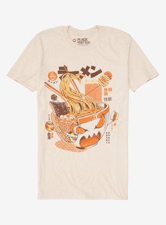 Ramen Anatomy T-Shirt By Ilustrata