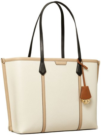 Perry Color-Block Triple-Compartment Tote Bag