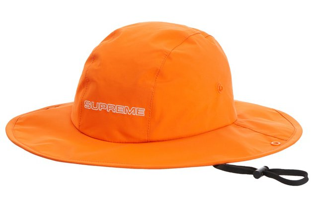 Supreme GORE-TEX Rain Hat Orange - FW19