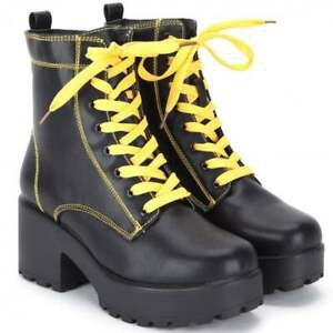 yellow and black combat boots - Google Search
