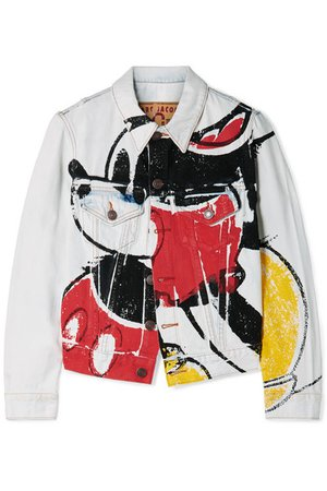 Marc Jacobs | Mickey printed denim jacket | NET-A-PORTER.COM