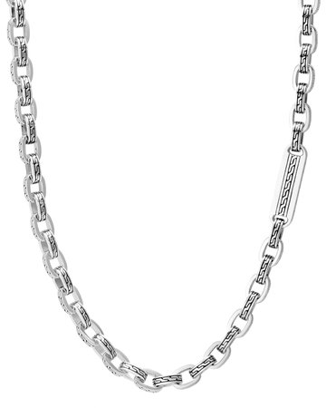 "John Hardy 26"" Classic Chain Link Sterling Silver Necklace"
