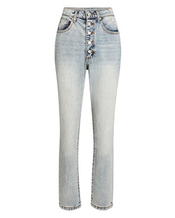 WeWoreWhat Danielle High-Rise Skinny Jeans | INTERMIX®