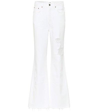High-Rise Bootcut Jeans | Grlfrnd - Mytheresa