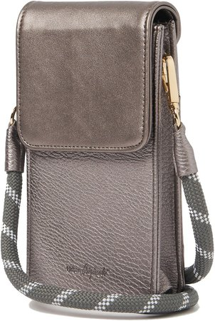 Nova Vegan Leather Phone Crossbody Bag