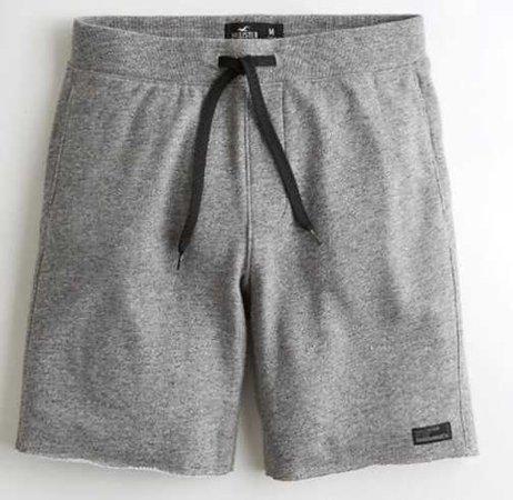 terry grey shorts