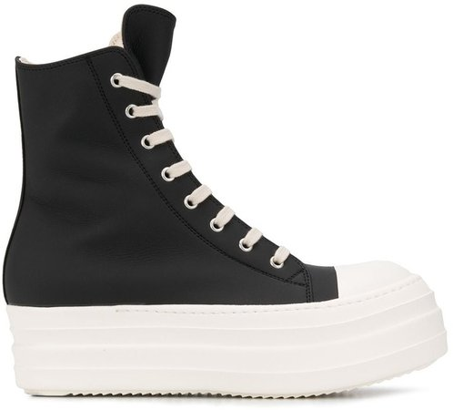Chunky Sole High Top Trainers