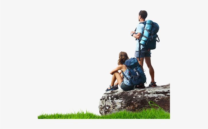 Hiking Png Image File - Hiking People Png Transparent PNG - 521x430 - Free Download on NicePNG