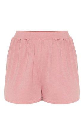 Dusty Pink Mix & Match Pyjama Shorts | PrettyLittleThing IE