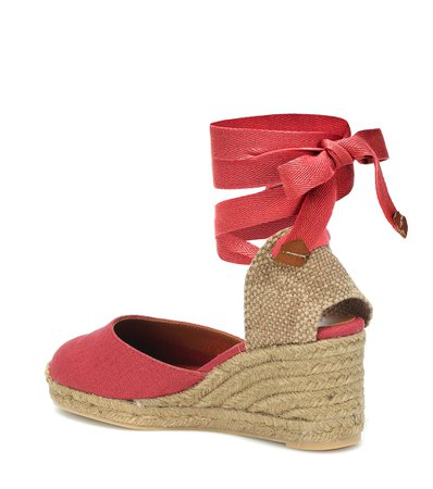 Castañer - Carina canvas wedge espadrilles | Mytheresa