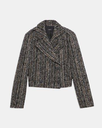 Tweed Sargent Jacket | Theory
