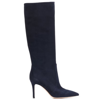Susan 85 Suede Knee-High Boots - Gianvito Rossi | Mytheresa