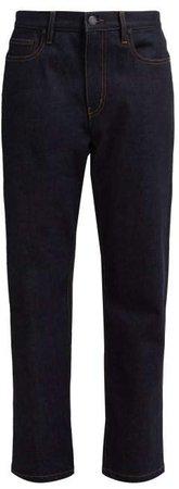 Kemp Straight Leg Jeans - Womens - Dark Blue