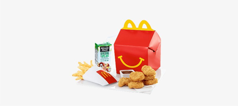 Happy Meal® Nuggets - Mcdonalds Chicken Nuggets Happy Meal Transparent PNG - 380x380 - Free Download on NicePNG