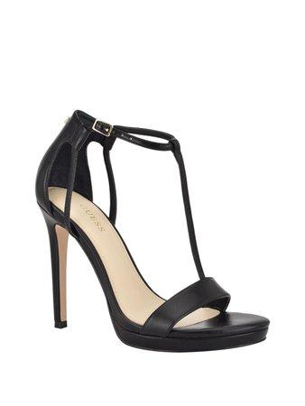 Tecru T-Strap Stilettos | GUESS