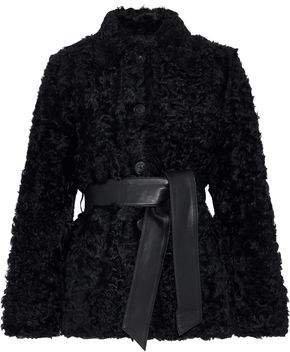 Sheela Belted Wool Coat