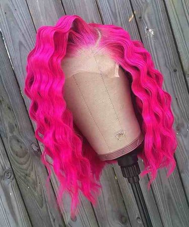 Preferred Preplucked Hot Pink Loose Wave Wig 13x4 Brazilian Transparent Lace Wigs Remy Short Human Hair Wigs For Black Women Human Hair Lace Wigs  - AliExpress