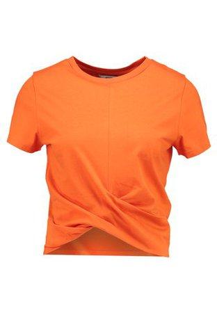 Envii ENBREEZE TEE - Print T-shirt - red orange - Zalando.co.uk