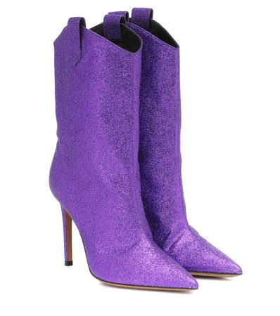 Exclusive To Mytheresa – Wayne Glitter Ankle Boots | Alexandre Vauthier - Mytheresa