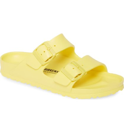 Birkenstock Essentials - Arizona Slide Sandal (Women) | Nordstrom