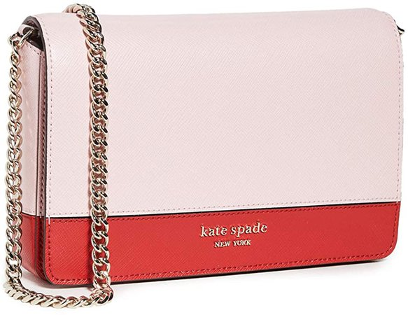 Amazon.com: Kate Spade New York Women's Spencer Chain Wallet, Hot Chili Multi, One Size: Shoes