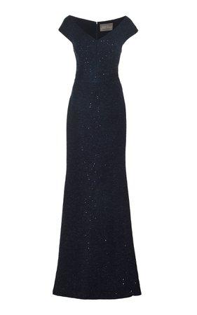 Open Neck Gown by Lela Rose | Moda Operandi