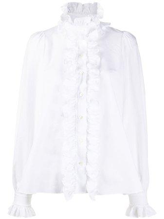 Dolce & Gabbana ruffle-detail Blouse - Farfetch