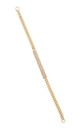 14k Gold And Diamond Bracelet By Sheryl Lowe | Moda Operandi