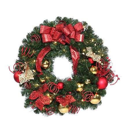 National Tree Co. 30in Decorative Christmas Wreath
