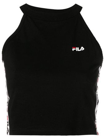 Fila logo tape cropped top $37 - Buy Online - Mobile Friendly, Fast Delivery, Price