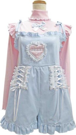 nile perch pastel overalls